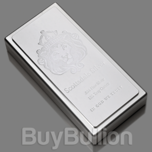 1 kg Scottsdale silver stacker bar