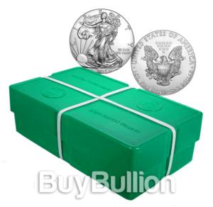 1 oz silver eagle monster box
