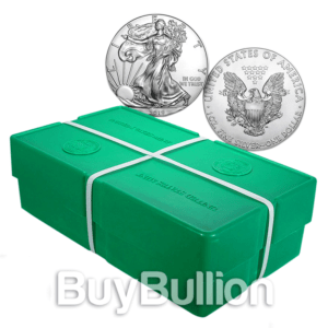 1 oz silver eagle monster box