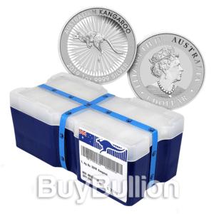 1 oz silver kangaroo monster box