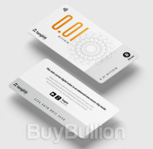 Tangem Note - 0.01 BTC