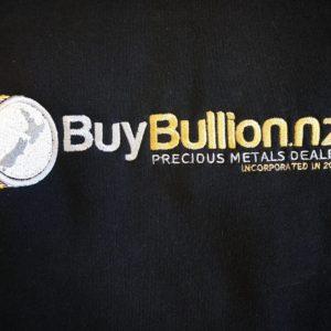 buybullion.nz hoodie closeup