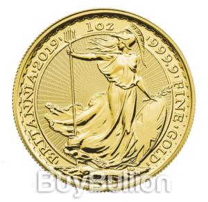 1 oz Britannia gold coin