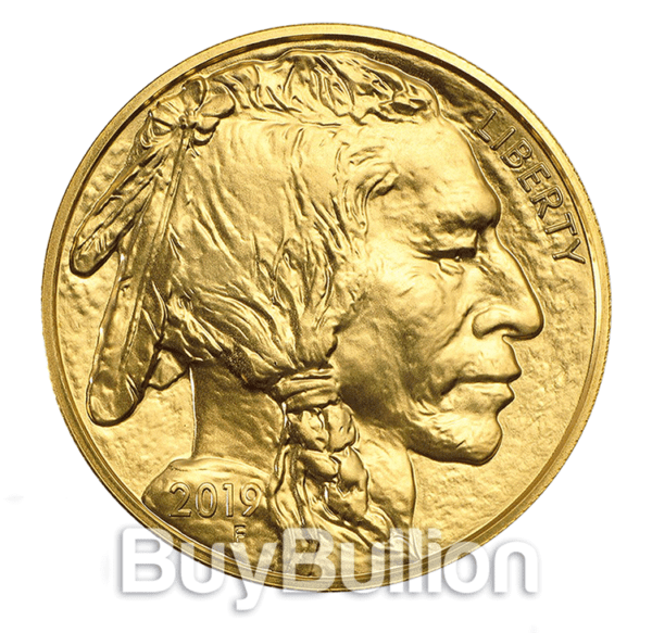 1 oz gold buffalo 2019