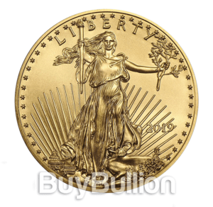 1 oz gold eagle 2019