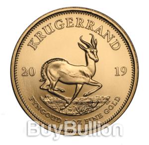 1 oz gold krugerrand 2019