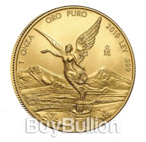 1 oz gold libertad 2019