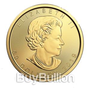1 oz Maple Leaf gold coin 2019