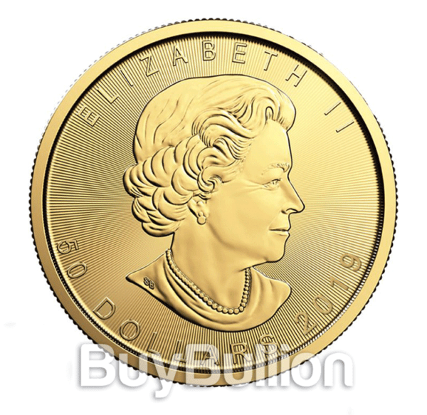 1 oz Maple Leaf gold coin 2019