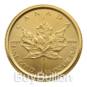 1/4 oz gold maple leaf 2019