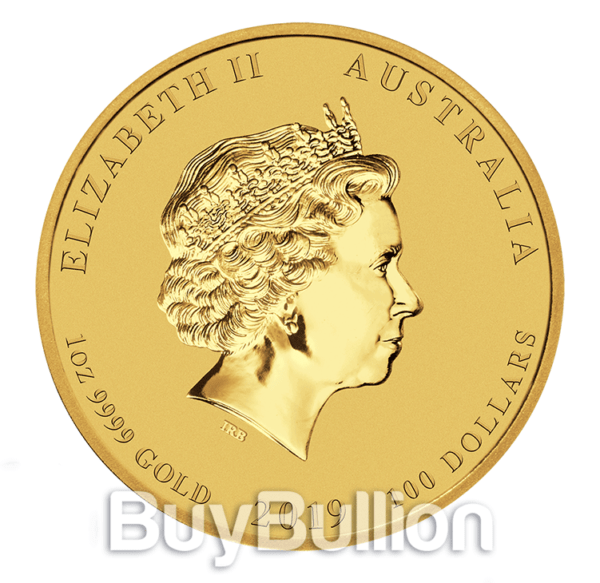 1 oz Year of the Pig gold coin
