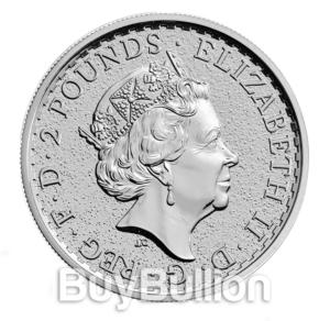 1 oz silver britannia coin