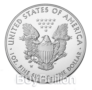 1 oz Eagle silver coin 2019