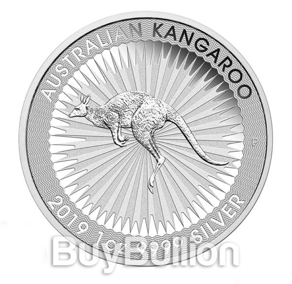 1 oz Kangaroo silver coin 2019