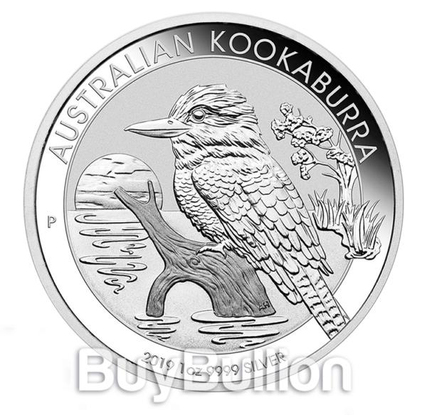 1 oz silver kookaburra coin