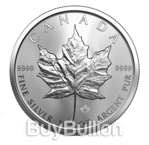 1 oz Maple Leaf silver coin 2019