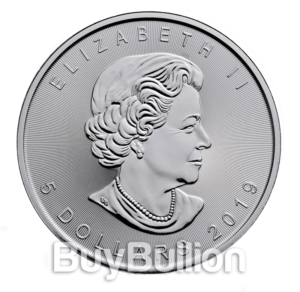 1 oz Maple Leaf silver coin