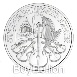 1 oz silver philharmonic coin