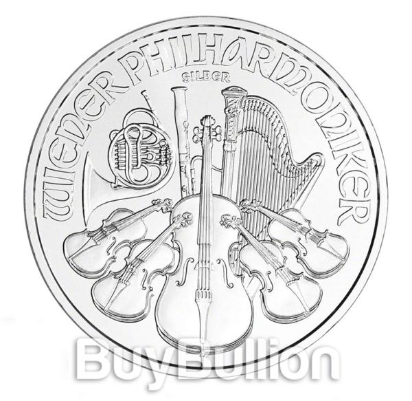1 oz silver philharmonic coin