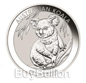 1 oz silver koala coin