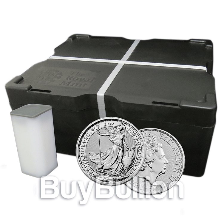 1 oz silver britannia monster box