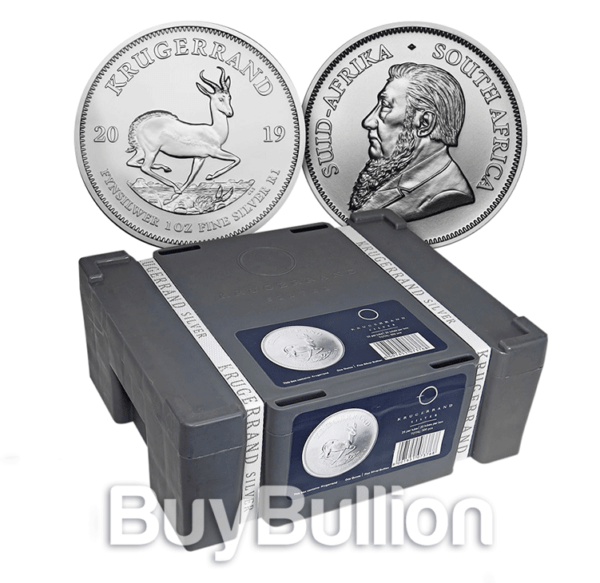 silver krugerrand coin
