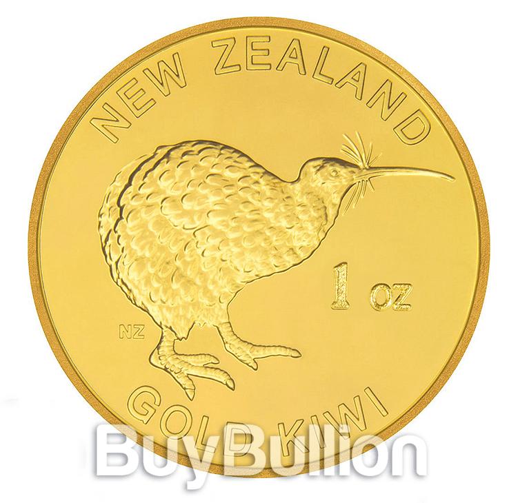 gold kiwi round - front