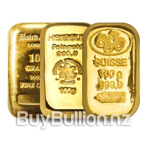 100 gram gold bar secondary market
