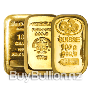 100 gram gold bar secondary market
