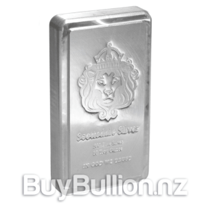 10 oz Silver Bar Scottsdale Mint Stackable