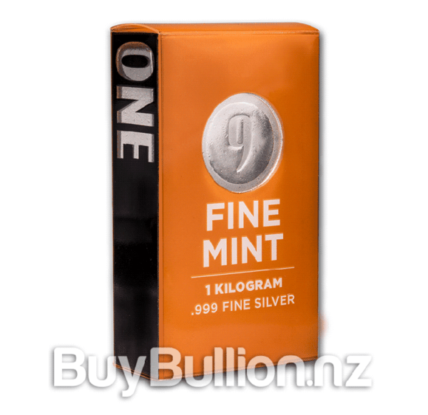 1 kg 9fine mint silver bar b