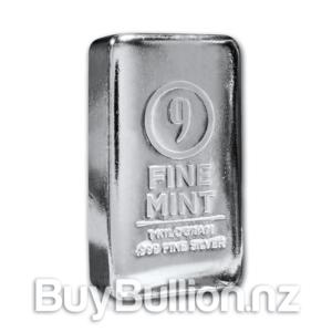 1 kg 9fine mint silver bar