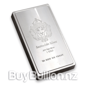 1 kg silver Scottsdale Mint Stacker bar