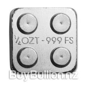 1/4 oz Building Block silver round