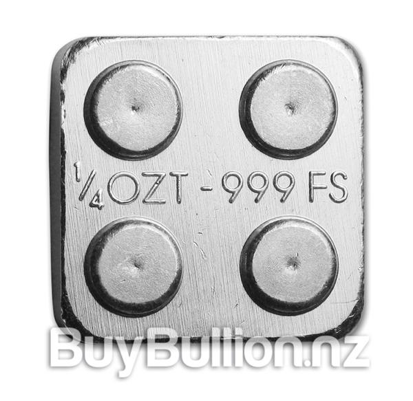1/4 oz Building Block silver round