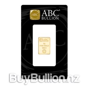 5 gram 99.99% gold bar