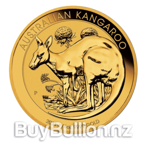 1/4 oz 99.99% gold Kangaroo coin