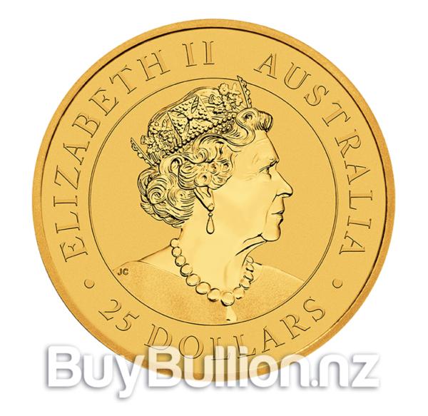 1/4 oz 99.99% gold Kangaroo coin